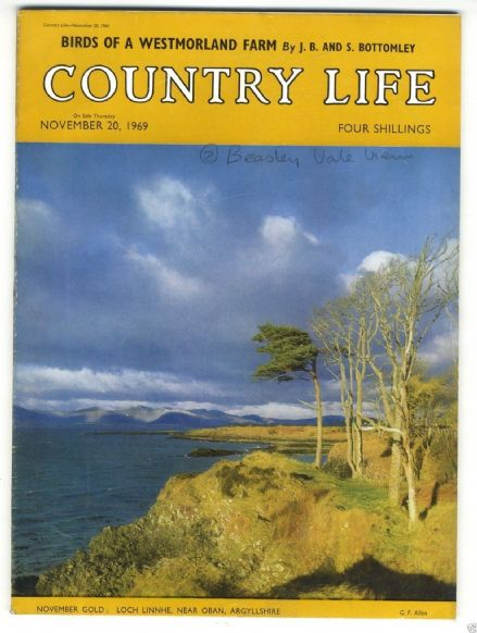1969 COUNTRY LIFE Magazine 20 Nov ROSEMARY WYLD CAMPBELL Beaminster MARY SMIRKE